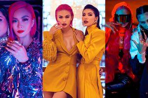 Mâu Thủy lần lượt đọ style với H'Hen Niê, Võ Hoàng Yến, Minh Tú trong sản phẩm ca nhạc thời trang