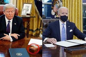 Tổng thống Biden gỡ bỏ cái nút đỏ bí ẩn trên bàn làm việc ở Nhà Trắng, đó là nút gì vậy?