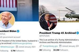 Tài khoản Twitter của Tổng thống Mỹ chỉ theo dõi 13 người mà có 1 ngôi sao, đó là ai vậy?