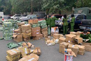 Công an Hà Nội phát hiện 39.000 sản phẩm khóa và phụ kiện cửa giả