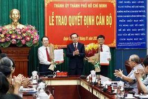 Đồng chí Nguyễn Văn Hiếu giữ chức Bí thư Thành ủy Thủ Đức