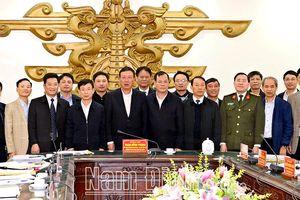Đoàn đại biểu các tỉnh sẵn sàng tham dự Đại hội XIII với trách nhiệm cao nhất
