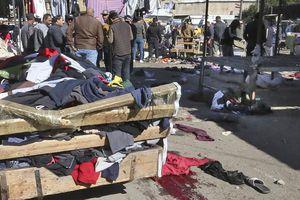 Phiến quân IS nhận trách nhiệm vụ đánh bom làm 32 người chết ở Iraq