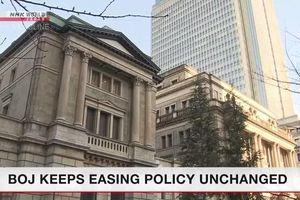 Nhật Bản giữ nguyên nới lỏng tiền tệ