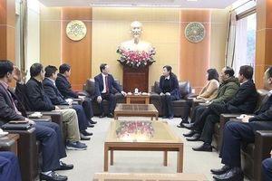 Hỗ trợ tỉnh Thái Nguyên trong các hoạt động KH&CN, chuyển đổi số