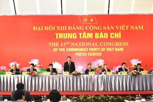 ĐH Đảng toàn quốc lần thứ XIII có số lượng đại biểu đông nhất từ trước đến nay