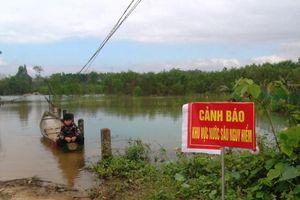 Mức nước hồ Tả Trạch dâng cao, hàng trăm hộ dân bị ảnh hưởng