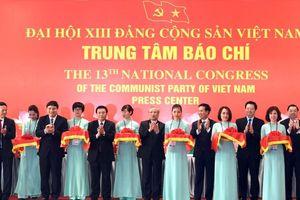 Khai trương Trung tâm báo chí phục vụ Đại hội XIII