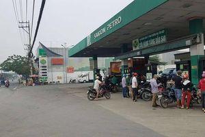 Nổ súng ở cây xăng tại Bình Tân - TP HCM, 1 người trúng đạn