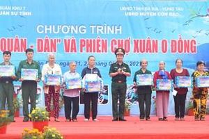 Khai mạc chương trình Xuân chiến sĩ 2021 tại huyện Côn Đảo, tỉnh Bà Rịa – Vũng Tàu