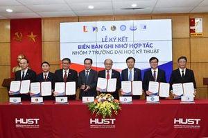 Nhóm 7 trường đại học kỹ thuật hợp tác toàn diện