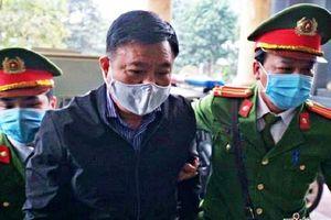 Hình ảnh ông Đinh La Thăng và Trịnh Xuân Thanh phiên xử vụ Ethanol Phú Thọ
