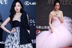 Qua rồi thời kỳ đỉnh cao, thời trang thảm đỏ của Dương Mịch ngày càng tụt dốc