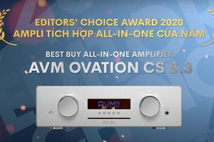 Editors' Choice Award 2020 - AVM Ovation CS8.3 – Ampli tích hợp all-in-one của năm