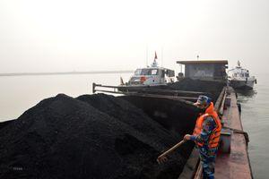 Bộ Tư lệnh Vùng Cảnh sát biển tạm giữ 500 tấn than không rõ nguồn gốc