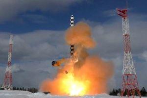 Trung Quốc đánh giá cao tên lửa Sarmat của Nga