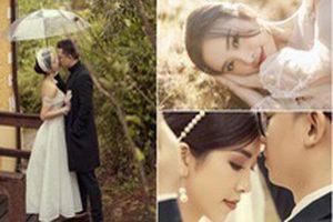 Ảnh cưới tại Đà Lạt 'ngọt hơn mật' của Á hậu Thúy An