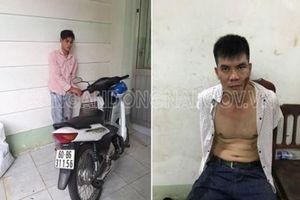 Đồng Nai: Bắt nóng 2 đối tượng trộm xe máy