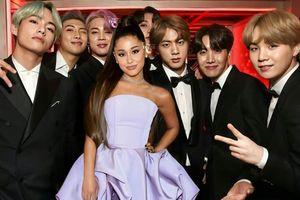 Rộ tin đồn BTS sẽ hợp tác với Ariana Grande