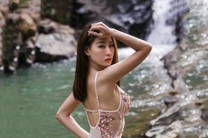 DJ Oxy gây tranh cãi khi mặc gợi cảm chụp ảnh bên hồ Đà Lạt dưới cái lạnh 14 độ C
