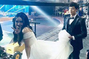 Quỳnh Kool làm cô dâu được Thanh Sơn nâng váy, đáng chú ý nhất là lời hứa hẹn tương lai