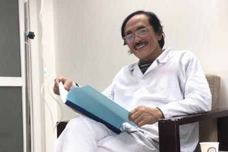 Nghệ sĩ Giang còi xác nhận bị ung thư họng giai đoạn 3