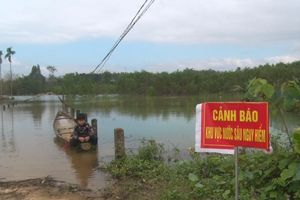 Thừa Thiên Huế: Hàng trăm hộ dân bị ảnh hưởng do hồ Tả Trạch tích nước cao hơn mức bình thường