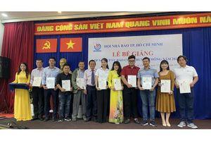 Bế Giảng lớp Nghiệp vụ Báo Chí - Truyền thông năm 2020 tại thành phố Hồ Chí Minh
