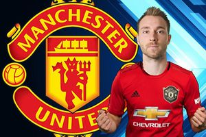 Manchester United muốn mượn Eriksen đến cuối mùa giải
