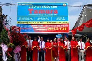 Tập đoàn Tamura khai trương chuỗi Siêu thị nước sơn tại TP Sóc Trăng