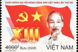 Độc đáo các bộ tem Đại hội Đảng