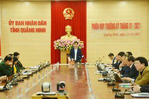 UBND tỉnh họp thường kỳ tháng 1/2021