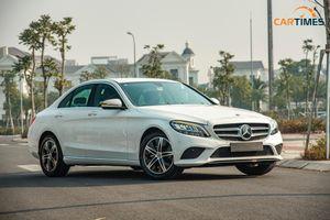 Còn mới tinh tươm, ODO chưa qua 50 km, Mercedes-Benz C 180 2020 đã được rao bán trên thị trường xe cũ
