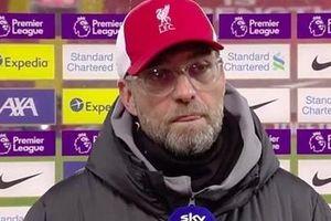 Liverpool thất bại, HLV Jurgen Klopp nói gì?