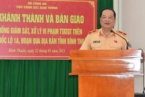 Bàn giao hệ thống camera giám sát trên QL1A đoạn qua Bình Thuận