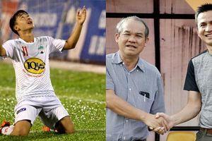 Minh Vương: 'Cảm ơn bầu Đức đã đưa HLV Kiatisuk tới HAGL'