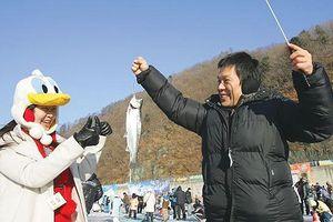Tận hưởng mùa đông ở Hwacheon