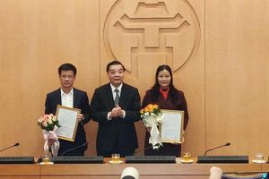 Đồng chí Bùi Duy Cường được bổ nhiệm làm Giám đốc Sở Tài nguyên và Môi trường Hà Nội