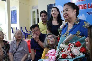 Gia đình NSND Lý Huỳnh bàn giao công trình tu bổ Khu Dưỡng lão Nghệ sĩ TP.HCM
