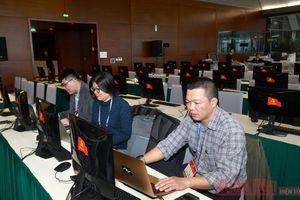 Khai trương Trung tâm Báo chí và Họp báo về Đại hội XIII của Đảng