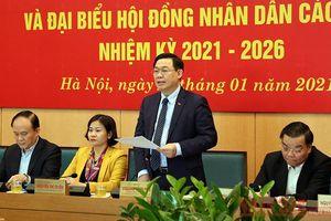 Hà Nội chuẩn bị kỹ lưỡng cho công tác bầu cử đại biểu Quốc hội và HĐND các cấp