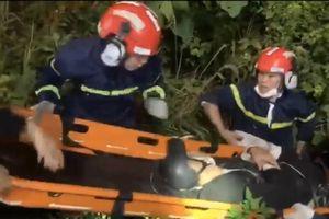 Đà Nẵng: Cứu nam thanh niên bị tai nạn lao xuống vực sâu ở bán đảo Sơn Trà