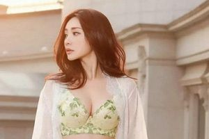 'Siêu vòng 1' Liễu Nham lộ loạt ảnh nóng bỏng chứng minh vẫn là nữ thần nội y hàng đầu Trung Quốc