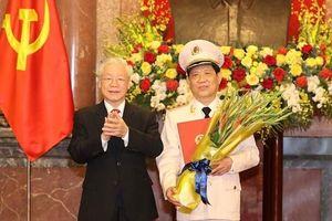Thứ trưởng Bộ Công an Nguyễn Văn Sơn được thăng cấp bậc hàm Thượng tướng
