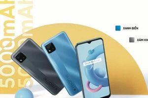 Realme C20: Helio G35, pin khủng 5.000 mAh giá chỉ 2,7 triệu