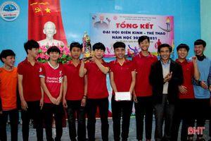 Kết thúc Đại hội Điền kinh – Thể thao ngành Giáo dục thành phố Hà Tĩnh