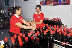 OCOP thúc đẩy chuỗi liên kết sản xuất kinh tế tập thể Hà Tĩnh