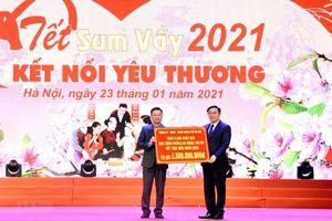 Gần 1.000 công nhân lao động ở Thủ đô Hà Nội vui 'Tết sum vầy'