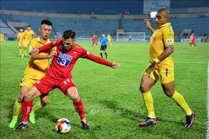 V.League 2021: Đội bóng Hải Phòng có 3 điểm trên sân nhà