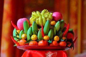 Cách giữ trái cây trên mâm ngũ quả tươi lâu